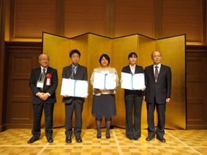 H25学術賞 フォーラム2011 ◆ 優秀若手研究者賞受賞者 古賀 貴之(九州大学・... 日本